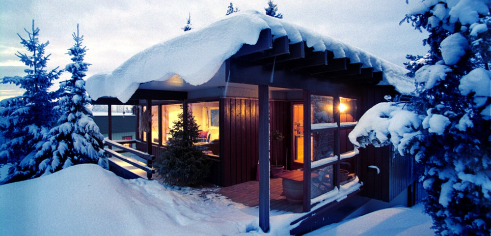 Norske hytter sluker strøm
